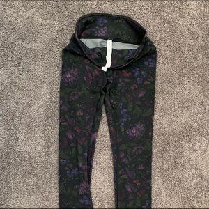 Lululemon Butterfly print leggings